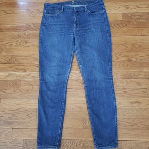 7 For All Mankind High Waist Skinny Jeans 31